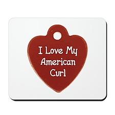 Love Curl Mousepad