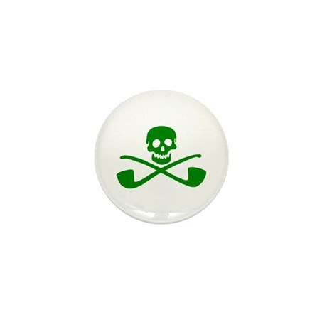 Leprechaun Pirate Mini Button