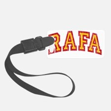 Rafa Red Yellow Luggage Tag