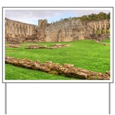 Rievaulx Abbey Yard Sign