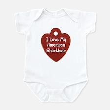 Love Shorthair Infant Bodysuit