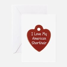 Love Shorthair Greeting Cards (Pk of 10)