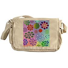 Flower Power stadium Messenger Bag