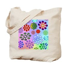 Flower Power stadium Tote Bag