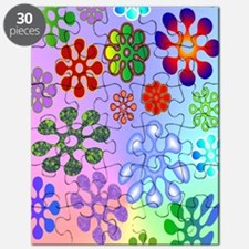 Flower Power journal Puzzle