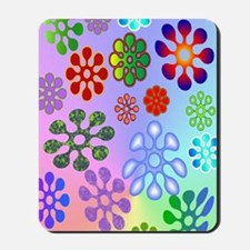 Flower Power journal Mousepad