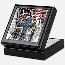 American Patriot Keepsake Box