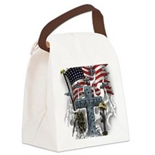 American Patriot Canvas Lunch Bag