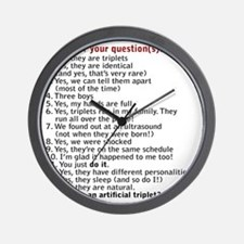 questions updated IDBBB Wall Clock