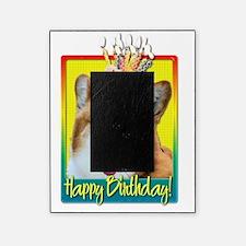 BirthdayCupcakeCorgiOwenHB Picture Frame