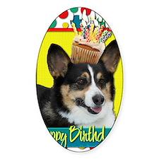 BirthdayCupcakeCorgi Decal