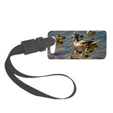 Big ducky family Luggage Tag