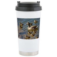 Big ducky family Travel Mug