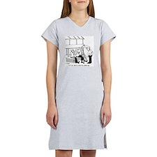 3698_lumber_cartoon Women's Nightshirt