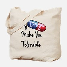 tolerable Tote Bag
