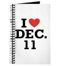 I Heart December 11 Journal