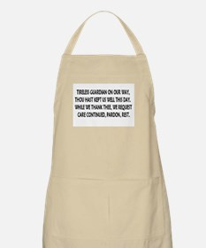 meal blessings BBQ Apron