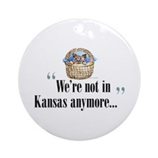 We're not in Kansas Ornament (Round)