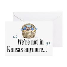 We're not in Kansas Greeting Cards (Pk of 10)