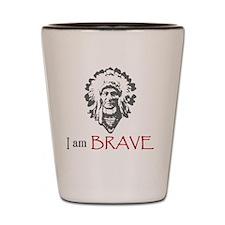 Bravery Shot Glass
