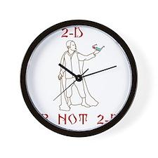 2D Wall Clock