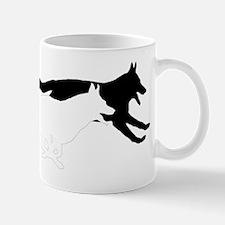 2 gsd silhouette raised Mug