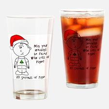Payne-Christmas Drinking Glass