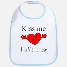 Kiss Me I'm Vietnamese Bib