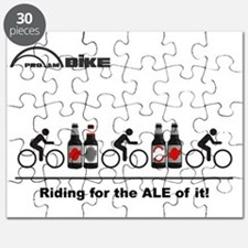 Cycling T Shirt - Riding for the ALE of it Puzzle