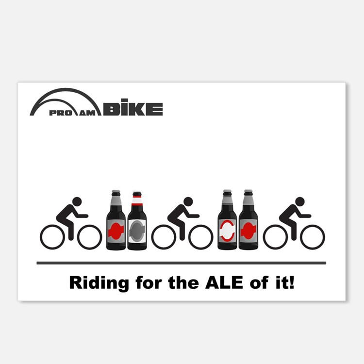 Cycling T Shirt - Riding  Postcards (Package of 8)