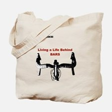 Cycling T Shirt - Life Behind Bars Tote Bag