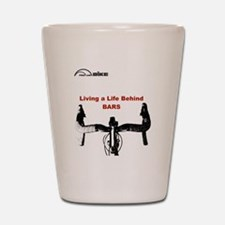 Cycling T Shirt - Life Behind Bars Shot Glass