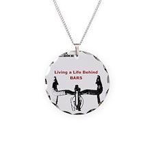 Cycling T Shirt - Life Behin Necklace