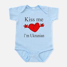 Kiss Me I'm Ukranian Infant Bodysuit