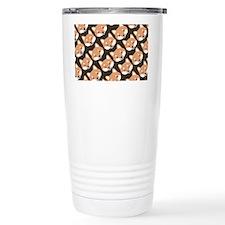 shibapatternwallet Travel Mug