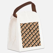 shibaflipflops Canvas Lunch Bag