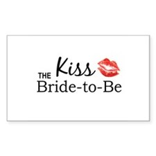 Kiss the Bride-to-be Decal