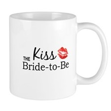Kiss the Bride-to-be Mugs