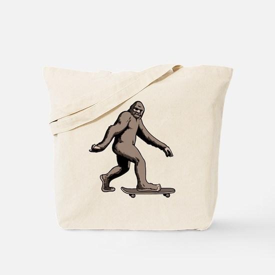 Squatch Boarder Tote Bag