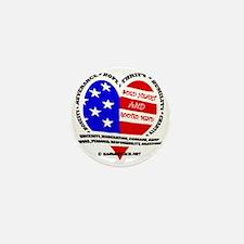SOLD Heart design EV copy Mini Button
