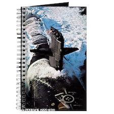 finback rectangle magnet Journal