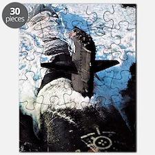 finback large framed print Puzzle