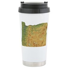 oregon-map Travel Mug