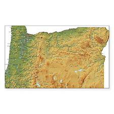 oregon-map Decal