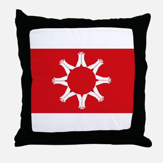 Oglala Flag Throw Pillow
