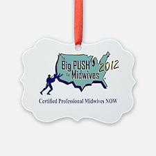 The Big Push Logo 2012 Ornament