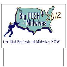 The Big Push Logo 2012 Yard Sign