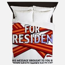 vcb-bacon-for-president-2012-w Queen Duvet