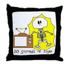 payne-TV-SHOCKback Throw Pillow