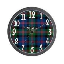 Blair Clan Wall Clock